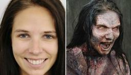 美女是如何變殭屍的?