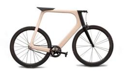 極簡木質車身自行車