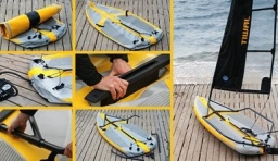 便攜充氣帆船
