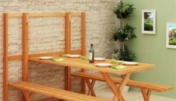 節省空間的組合餐桌