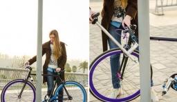 車身可做車鎖的自行車