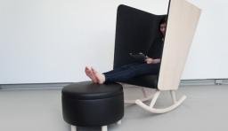 個性時尚搖椅