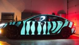 LumiLor通電發光塗料