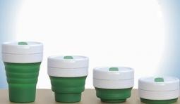 SMASH CUP 能摺疊的咖啡杯