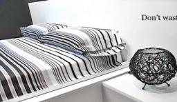 自動疊被子床