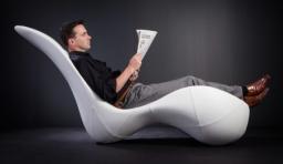 流線型躺椅