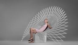 霸氣孔雀椅