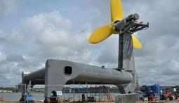 威爾士首個潮汐能發電機