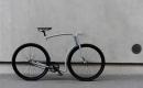 極簡主義鋼架自行車