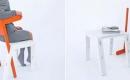 簡單多用變形座椅
