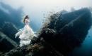 超夢幻海底婚紗照