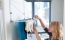 實用方便的摺疊晾衣架