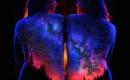 唯美人體夜景藝術