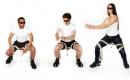 實用的外骨骼座椅