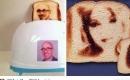 創意多士爐:可烤出印有自拍照的麵包