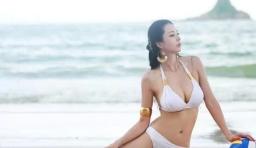 腰是腰腿是腿!中國第一黃金比例美女身材好得嚇人!