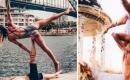 這對情侶用雙人瑜珈走遍世界,找到最完美的平衡