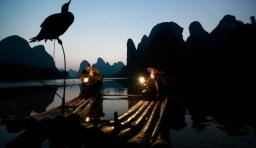桂林八旬模特兄弟 供人拍照紅遍全球(組圖)