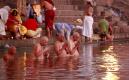 印度恆河三角洲的鄉村生活