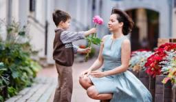 兒子和母親的對話,簡單、深刻