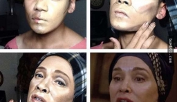 八張圖告訴你男人的化妝技術比任何女人還要強,第8張更是經典!