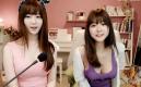 文明觀球!韓國女主播雪梨 兩個妹紙哪個更沉重?