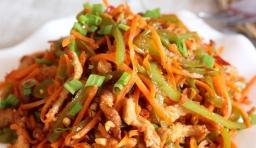 從此愛上胡蘿蔔--絕對好吃的胡蘿蔔炒肉絲的做法