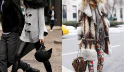 冬天搭配一件打底褲竟然可以這麼美