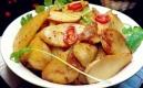 杏鮑菇燜土豆片,比肉還好吃