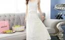 白色長裙,夏日這麼穿搭最搶眼