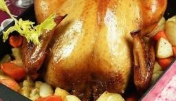 教你不用烤箱也能做肉鮮皮酥的蜜汁烤雞,老公兒子一次能吃兩整隻